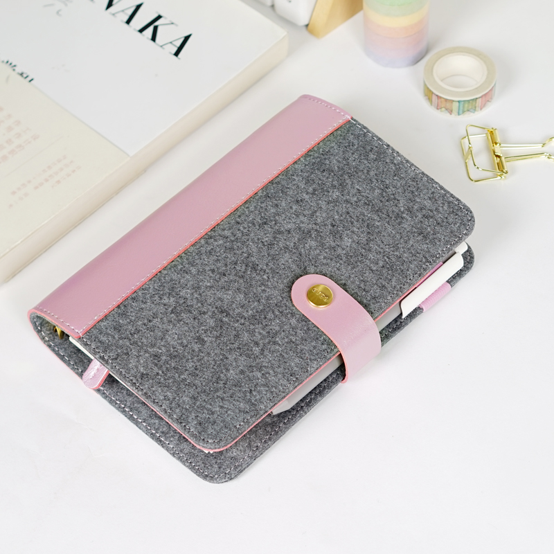 Notebook with Woolen Cover